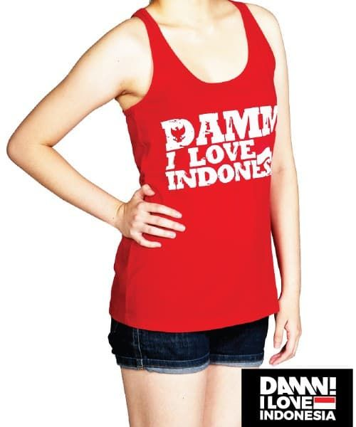 TANK TOP SIGNATURE A LINE RED FEMALE
